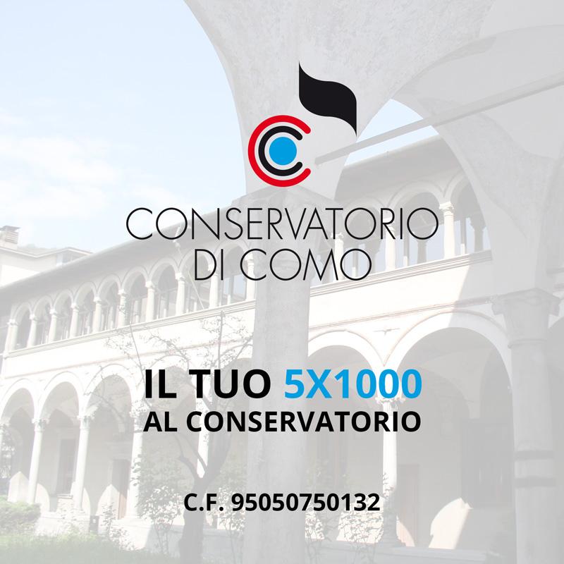 5x1000 al Conservatorio di Como